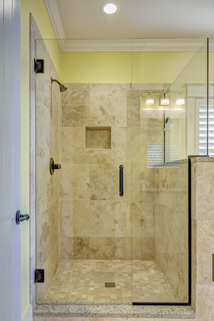 A walk-in shower is just what you need from McHale's KBA