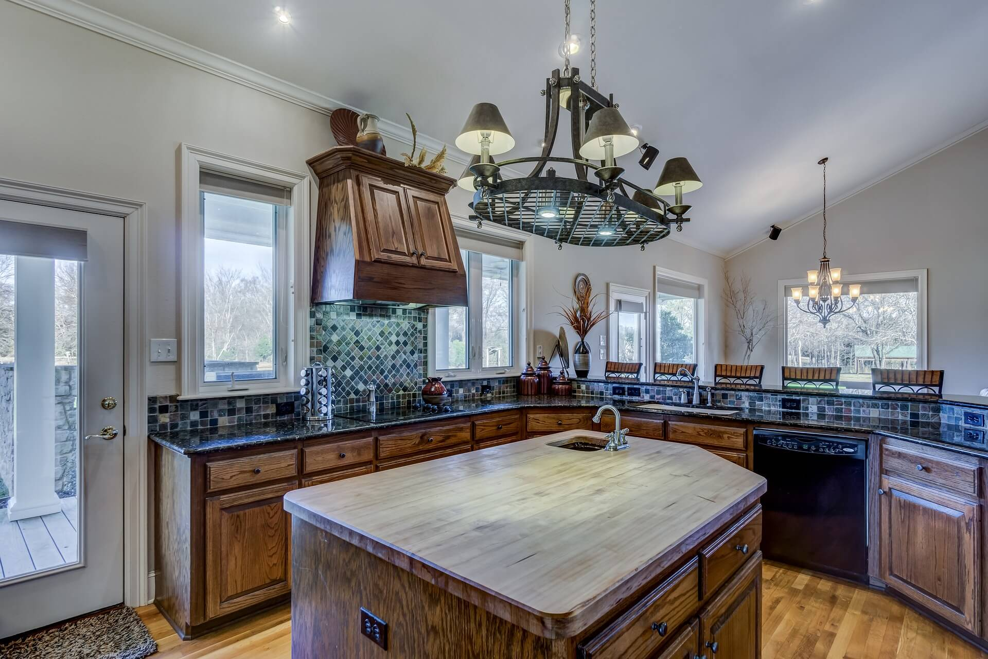 kitchen island in Pennsylvania by McHale's KBA
